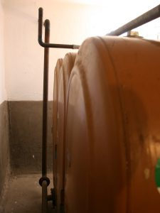 Alte einwandige Tankanlage 2